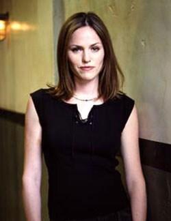 JORJA FOX, attrice, 41 anni