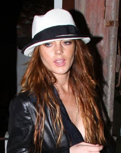 LINDSAY LOHAN, attrice, 23 anni (foto Kika Press & Media)