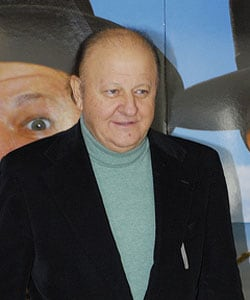 MASSIMO BOLDI, attore, 64 anni