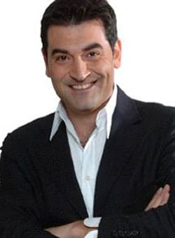 MAX GIUSTI, attore, imitatore e conduttore tv, 49 anni