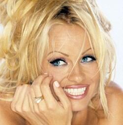 PAMELA ANDERSON, attrice, 41 anni