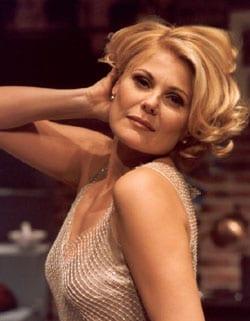PATRIZIA PELLEGRINO, attrice, conduttrice, 47 anni