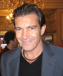 ANTONIO BANDERAS, attore, 49 anni