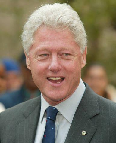 BILL CLINTON, ex presidente Usa, 63 anni