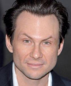 CHRISTIAN SLATER, attore, 40 anni