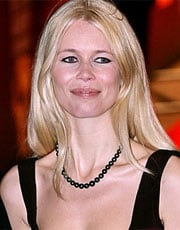 CLAUDIA SCHIFFER, ex top model, 39 anni