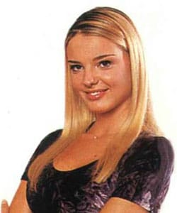 CRISTIANE FILANGERI, attrice, 31 anni