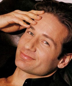 DAVID DUCHOVNY, attore, 49 anni