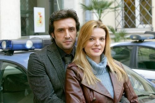 Flavio Insinna e Christiane Filangieri