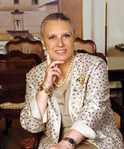LAURA BIAGIOTTI, stilista, 66 anni