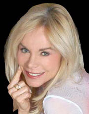 MARIA GIOVANNA ELMI, ex annunciatrice tv, 69 anni