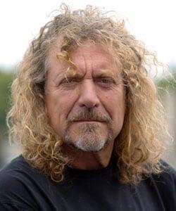 ROBERT PLANT, cantante e musicista, 61 anni