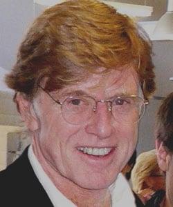 ROBERT REDFORD, attore e regista, 72 anni