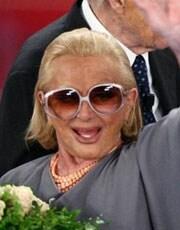 SANDRA MONDAINI, attrice, 78 anni