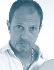 SERGIO CAPUTO, cantautore, 55 anni