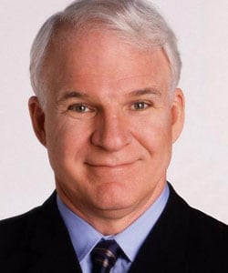 STEVE MARTIN, attore, 64 anni