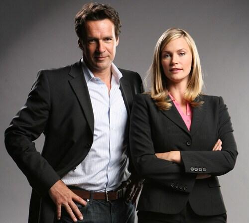 David James Elliott e Natasha Henstridge