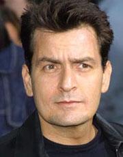 CHARLIE SHEEN, attore, 44 anni