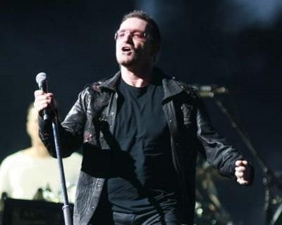 Bono degli U2 (Foto Kika Press & Media)
