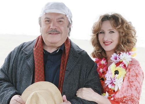 Lino Banfi e Lunetta Savino