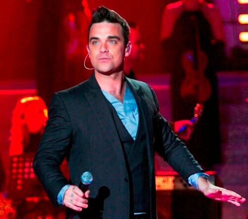 Robbie Williams (foto Kikapress)