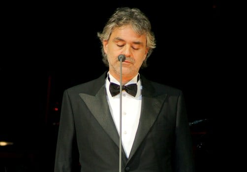 Andrea Bocelli (Kikapress)