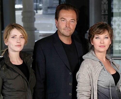 Da sinistra, Loredana Cannata, Sebastiano Somma e Vanessa Gravina