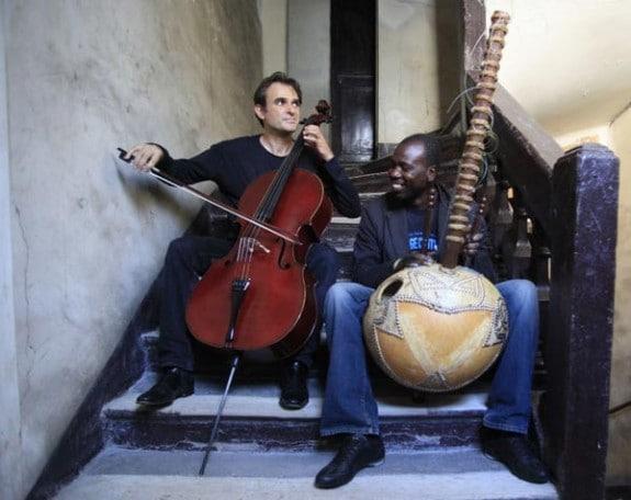 Ballakè (nella foto a sinistra) e Vincent Segal