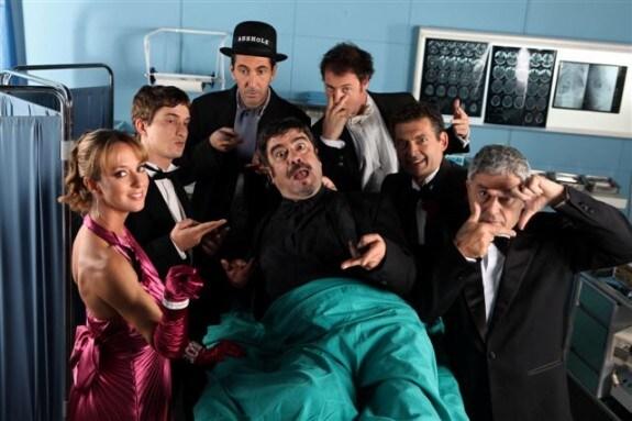 Il cast della terza stagione di Boris