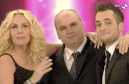 Antonella Clerici, Tony Maiello e suo padre Raimondo