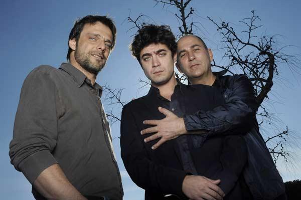 Nella foto da sinistra: Alessandro Preziosi, Riccardo Scamarcio e Ferzan Ozpetek