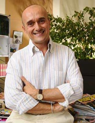 Alfonso Signorini direttore di Tv Sorrisi e Canzoni