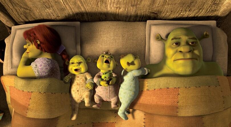 Fiona e Shrek