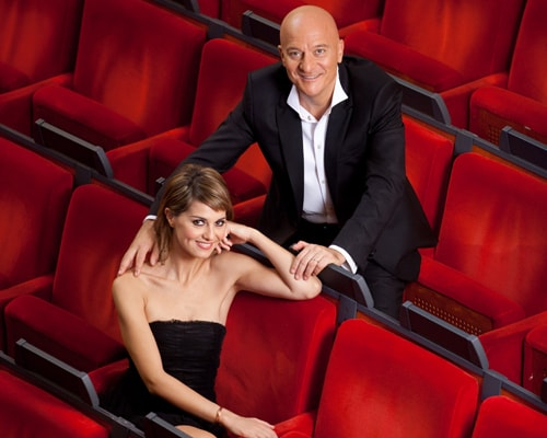 Claudia Cortellesi e Paolo Bisio