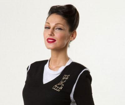 Anna Tatangelo (foto Massimo Sestini)