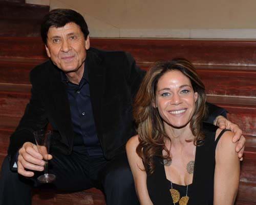 Gianni Morandi e sua figlia Marianna (foto Frezza/LaFata)