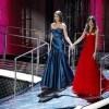 Belen Rodriguez ed Elisabetta Canalis (foto Kikapress)