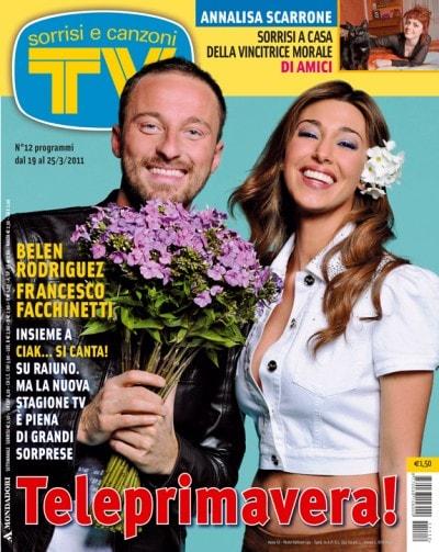 Francesco Facchinetti e Belen Rodriguez