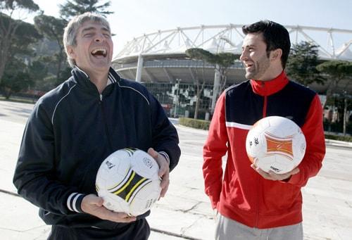 Paolo Rossi e Christian Panucci