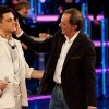 Roberto Vecchioni e Virginio Simonelli (foto Kika Press)