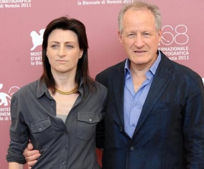 La regista Ami Canaan Mann e suo padre Michael (foto Olycom)