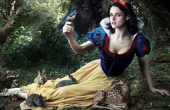 "Kristen Stewart è Biancaneve in ""Snow White and the Huntsman"""