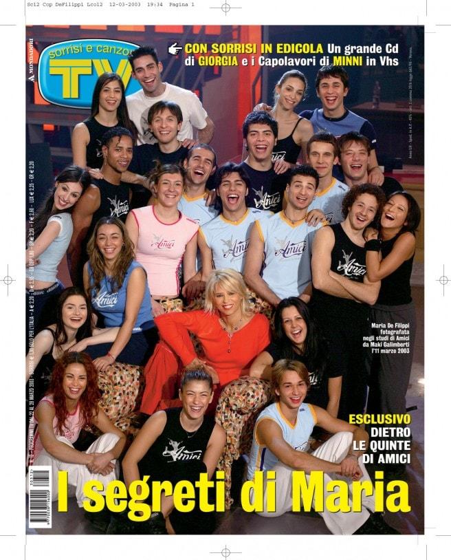2003: Maria dietro le quinte di «Amici»