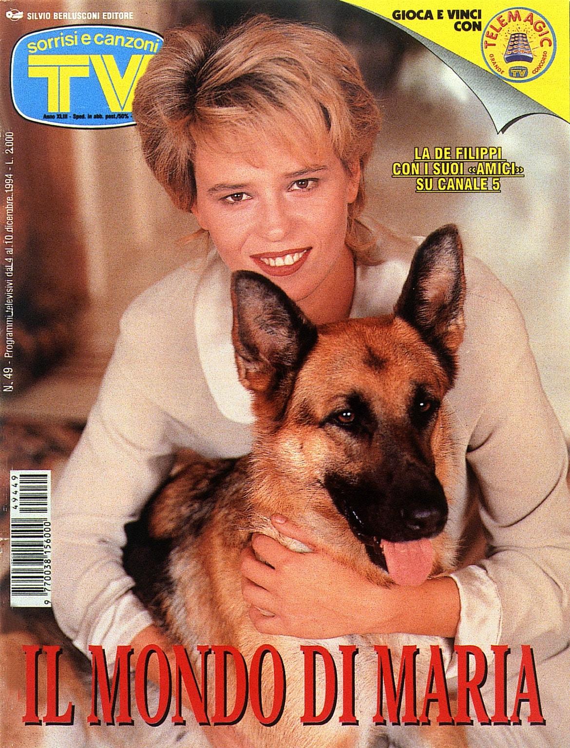 1994: Maria per la prima volta in copertina