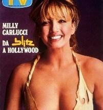 Milly Carlucci nel 1982 (clicca l'immagine per vedere tutte le cover di Milly dal 1980)