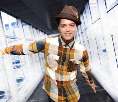 Bruno Mars (foto di Iwan Palombi)