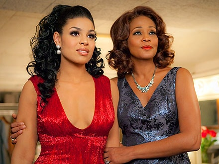 "Whitney Houston e Jordin Sparks nel film ""Sparkle"""