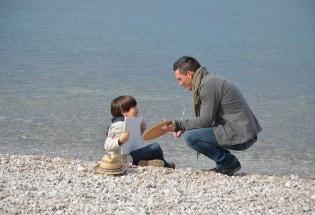 Kekko Silvestre e il piccolo Pietro Girelli (foto Ultrasuoni)