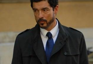 Alessandro Gassman nella prima puntata della fiction «Una grande famiglia»