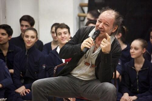 foto ANSA (clicca l'immagine per sfogliare la gallery di Vasco Rossi alla Scala)